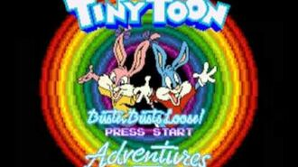 Tiny Toon Adventures - Buster Busts Loose! (SNES) Music - Game Over