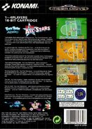 TTA Acme All-star, sega mega drive back cover