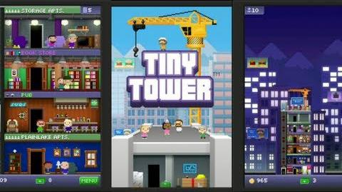 Tiny Tower iPad Gameplay (Free Universal App)