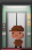 Tiny Tower Delivery Man