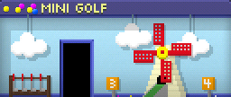 Tiny Tower Mini Golf