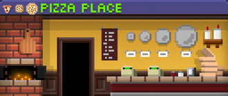 Tiny Tower Pizza Place