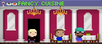 Tiny Tower Fancy Cuisine