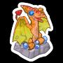 Sticker phoenixstatue@2x