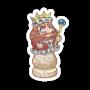 Sticker chesskingrupert@2x