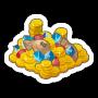 Sticker treasurepile@2x