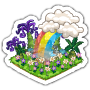 Sticker rainbow@2x