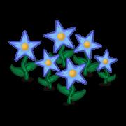 Decoration starflowers blue thumbnail@2x