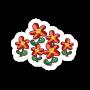 Sticker redflowers@2x