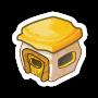 Sticker goldhouse@2x