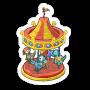 Sticker merrygoround@2x
