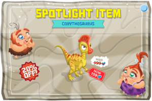Modals spotLightItem corythosaurusAdult@2x