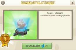 Rupert hologram