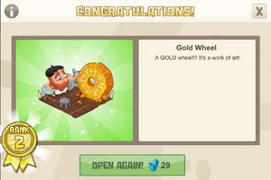 Playground 2 gold wheel