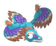 Archaeopteryx adult inflight1