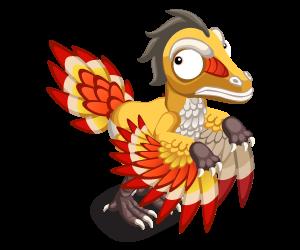 Yellowarchaeopteryx adult@2x