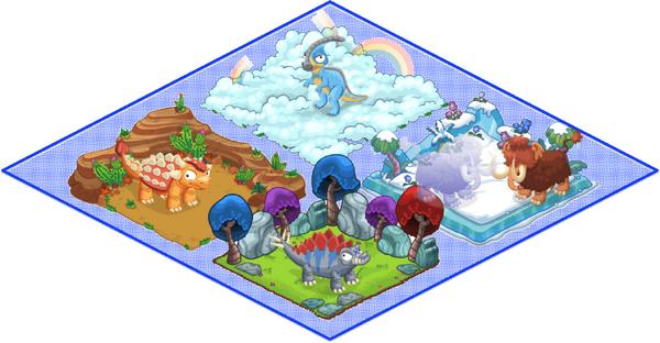 Tier0 Dino Diorama