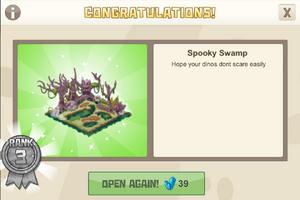 Dinocrates 3 spooky swamp
