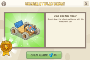 Dinocrates 4 dino box car racer