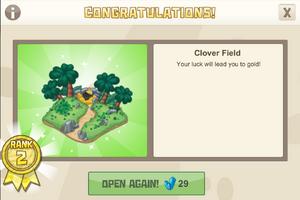 Rank 2 clover field