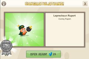 Rank 3 leprechaun rupert
