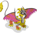 Yellow Leaf Dragon