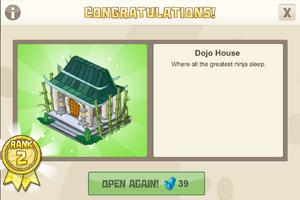 Ninja 2 dojo house