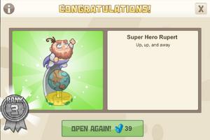 Dinocrates 3 super hero rupert