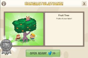 New year 3 fruit tree