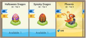 SpookyDragonEgg in Inventory