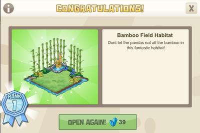 Ninja 1 bamboo field habitat