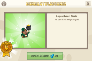 Rank 4 leprechaun ozzie