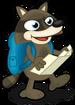 Backpacking raccoon single
