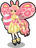 Easter fairy single