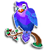 Goal lonely lovebird icon