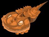 Horseshoe crab single