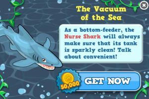 Nurse shark modal