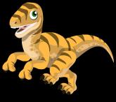 Velociraptor single