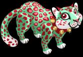 Christmas leopard single