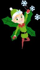 North pole elf an