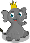 Babar the elephant static