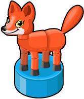 Collapsing fox single