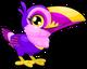 Cubby toucan amethyst single
