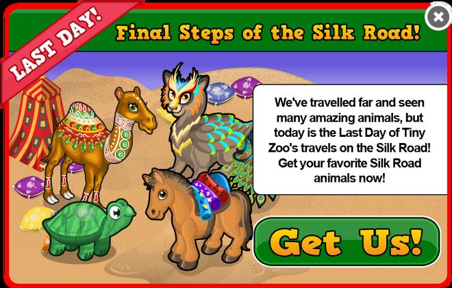 Silk road last modal