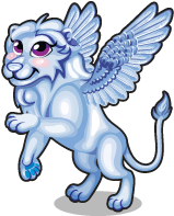 Winter ice lion single