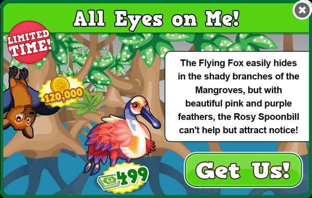 Flying fox modal