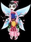Geisha fairy static