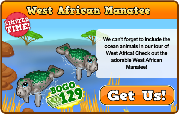 West african manatee modal
