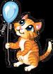 Balloon kitten single