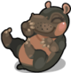 Cubby hippo mile2 single